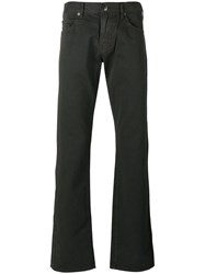 Armani Collezioni Regular Trousers Grey