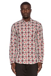 Publish Walt Button Down Red
