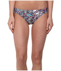 Athena Perfectly Paisley Tab Side Multi Women's Swimwear