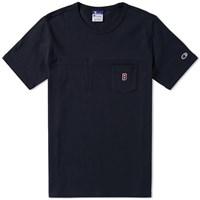 Champion X Beams Pocket Tee Blue