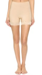 Only Hearts Club Second Skins Bike Shorts Nude