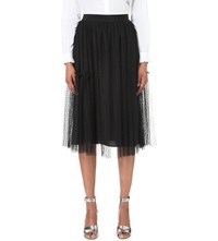 Claudie Pierlot Sonate Lace Skirt Noir