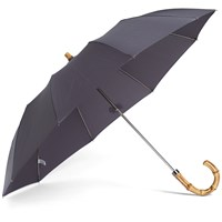 London Undercover Whangee Telescopic Umbrella Grey