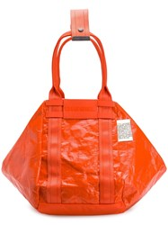 Diesel D Cage Shopper Orange