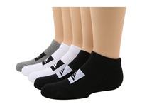 Quiksilver Legacy Ankle 5 Pair Pack Big Kid Assorted Men's No Show Socks Shoes Multi