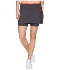 Asics Tennis Club Booty Skort Dark Grey Women's Skort Gray