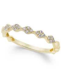 Macy's Diamond Stackable Band 1 8 Ct. T.W. In 14K Gold White Gold Or Rose Gold Yellow Gold