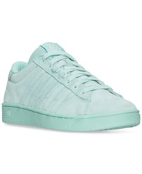 K Swiss Women's Hoke Suede Cmf Casual Sneakers From Finish Line Fair Aqua Yucca