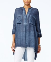 Tommy Hilfiger High Low Tunic Only At Macy's Midnight