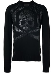 Philipp Plein 'Analogy' Jumper Black