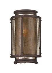 Troy Lighting Copper Mountain Outdoor Wall Light Brown