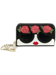 Alice Olivia Staceface Wallet Black