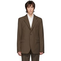 Christophe Lemaire Brown Wool Blazer