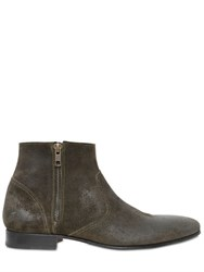 Pete Sorensen Waxed Suede Ankle Boots