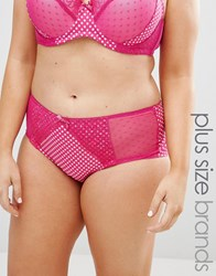 Yours Spot Brief Hot Pink