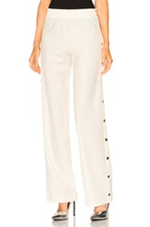 Maison Martin Margiela Stretch Wool Gabardine Pants In White