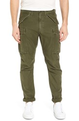 Frame Straight Leg Cargo Pants Army Green
