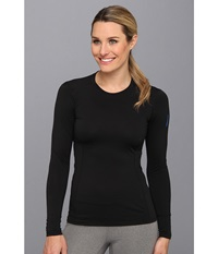 Arc'teryx Phase Sl Crew L S Black Women's Long Sleeve Pullover