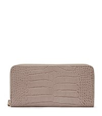 Reiss Murph Womens Textured Leather Purse In White