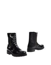 Versace Collection Ankle Boots Black