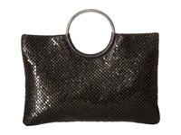 Jessica Mcclintock Sonia Circle Handle Bag Black Handbags