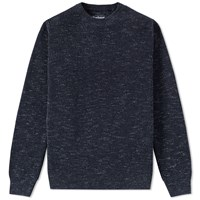 Barbour Coast Crew Knit Blue