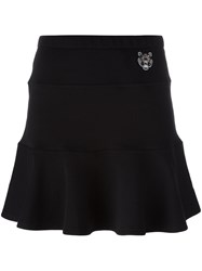 Kenzo Mini Tiger Skater Skirt Black