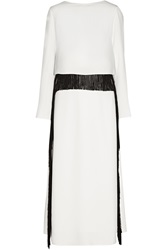 Derek Lam Fringed Cady Dress