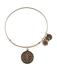 Alex And Ani Fleur De Lis Bangle Rafaelian Silver