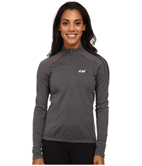 Louis Garneau Edge Ct Cycling Jersey Iron Gray Women's Workout