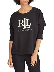 Ralph Lauren Kylene Sweatshirt Polo Black