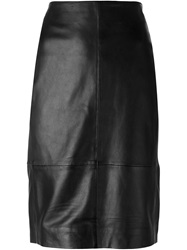Muubaa 'Yates' Pencil Skirt Black