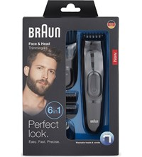 Braun Face And Head Trimming Kit 6 In 1