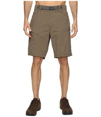 The North Face Paramount Trail Shorts Weimaraner Brown Men's Shorts
