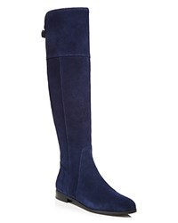 Charles By Charles David Reed Knee High Tall Boots Compare At 199 Navy