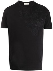 Etro Embroidered Paisley T Shirt 60
