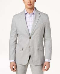 Tasso Elba Classic Fit Sport Coat Grey Heather