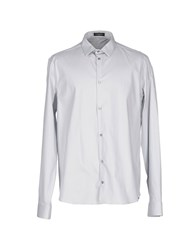 Cnc Costume National Homme Shirts Light Grey