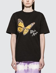 Palm Angels Butterfly T Shirt Black
