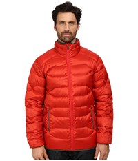Merrell Wildgarst Down Puffer Molten Lava Men's Coat Red