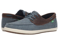 Sanuk Casa Barco Vintage Blue Men's Lace Up Casual Shoes