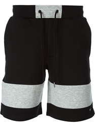 Marc By Marc Jacobs Colour Block Track Shorts Black