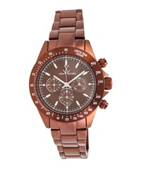 Toywatch Chrono Metallic Brown Watch