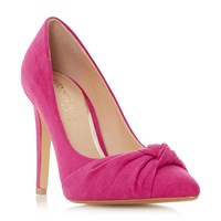 Head Over Heels Arria Knot Point Court Shoes Pink