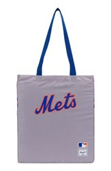 Herschel Supply Co. Packable Mlb National League Tote Bag Grey New York Mets