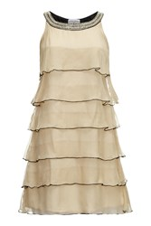 Almost Famous Layered Party Dress Orange