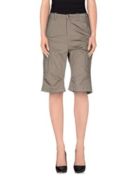 Twin Set Simona Barbieri Bermudas Grey