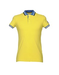 Invicta Polo Shirts Yellow