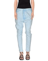 Patrizia Pepe Denim Denim Trousers Women Blue
