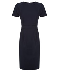 Aquascutum London Bryony Wool Stretch Dress Navy